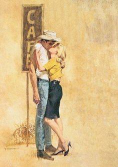 Kiss A Cowboy