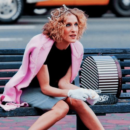 Carrie Bradshaw is tired