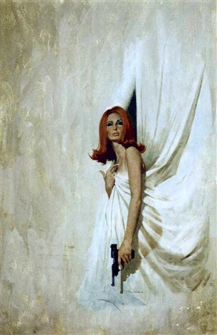 Redhead With Pistol