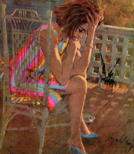 Sad On The Porch