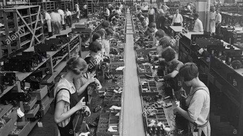 Womens Assembly Line