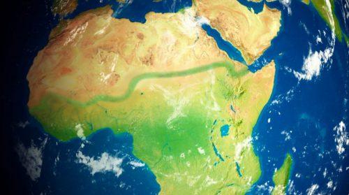 Green Wall Dot Org Africa Map